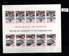 /// MONACO 1988 - MNH - IMPERF - EUROPA CEPT - SPACE, TRAIN