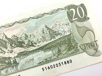 1979 Canada 20 Dollar Twenty Dollar Uncirculated 516 Thiessen Crow Banknote R364