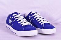 Unisex Row One MLB Kansas City Royals KC Logo Lace Up Shoes, Blue,