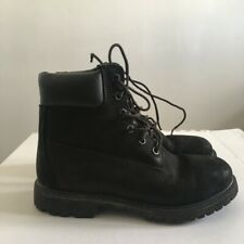 🎈Timberland szie 4 🎈Womens Ladies 6 Inch Classic Waterproof Ankle Boots  Black