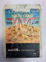 Solid Gold Hits 8 Track Tape 1975 Various Artists ElectronicsRecycledCom