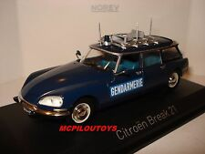 NOREV CITROEN BREAK 21 GENDARMERIE FRANCE 1974 au 1/43°