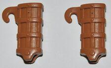 25442 Vaina marrón claro 2u playmobil,medieval,espada,sword,highlander