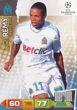 LOIC REMY FRANCE OLYMPIQUE MARSEILLE CARD ADRENALYN CHAMPIONS LEAGUE 2012 PANINI