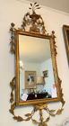 1930's Italian Neoclassical Gilt Mirror in the Style of Robert Adams