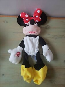 "Build a Bear Disney Minnie Mouse Unstuffed Full Size Plush Toy BAB - New 20"""