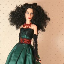 SALE Cher Christmas Couture OOAK Redress Restyle CUSTOM DOLL w/ GIFT BOX