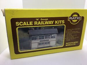 Ratio n gauge building Kit - Signal Box - Unassembled but Considered Used.