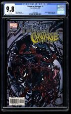 Venom vs. Carnage #2 CGC NM/M 9.8 White Pages 1st Toxin!