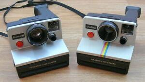 Polaroid Pronto B and Polaroid One Step. Lot of 2 cameras