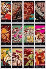 Topps Star Wars Digital Card Trader 12 Card Retro Print 3 Insert Set