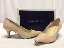 Karen Scott CLANSY Women's Heels Pump Shoe,Light Pink,Bridal,Christmas,Size 8.5M