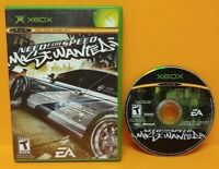 Need For Speed Most Wanted Racing  Microsoft XBOX OG Rare Game Tested