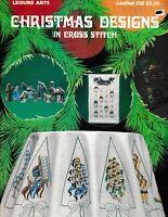 Christmas Designs in Cross Stitch   Leisure Arts 128