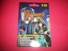 Wizard 101 new Great Detective Bundle Game Card Crowns Gyrocycle Baskerville Pet