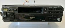 Old School Sony XR-1750 Fm/AM Cassette Car Stereo Radio Tested Fully