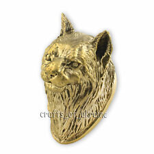 Awesome LYNX Pommel for Custom Knives Handles Knife Making Supplies Solid Bronze