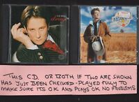 K.D. Lang Drag and Absolute Torch and Twang TWO CD Albums