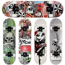 FunTomia® Skateboard Kanada Ahornholz ABEC-9 Kugellager 100A Rollen 15 Farben