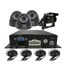 DIY 4 Channel 256g SD Car Vehicle DVR MDVR Video Recorder CCTV Rear View Camera
