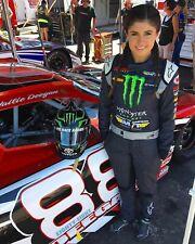 NASCAR SUPERSTAR HAILIE DEEGAN  8X10 PHOTO W/BORDERS