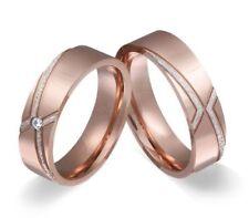 Anillos de joyería de metales preciosos sin piedras de acero inoxidable de boda