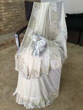 India Pakistani Saree Ritukumar  Sari Anarkali Lehenga Indian clothing wedding.