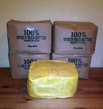 2 Lbs Raw Organic SHEA BUTTER Unrefined Pure Yellow Gold Ghana Grade A 2 Pounds
