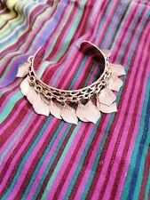 Jewellery Leaves Chain Gorgeous Bangle Bracelet Costume