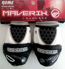 New Maverik Rome Lacrosse Attack Arm Guard Size-M Black/White
