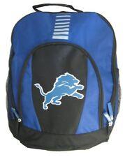 Nfl Football Detroit Lions Backpack Backbag Bag Prime Time