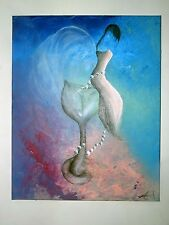 Pearls of Passion, 2000- Now, Original, Acrylic, Surrealism, fantasy, Signed