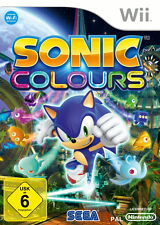 Sonic Colours (Nintendo Wii, 2010, DVD-Box)