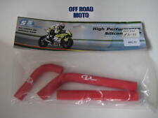 Gas Gas Trials Bike Red Radiator Hose Kit. 2002-2014! SFS. TOP QUALITY SILICONE