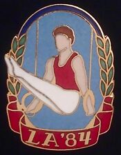 Gymnastics Olympic Pin Badge~Rings~LA 1984~LE~Los Angeles~Limited Edition!