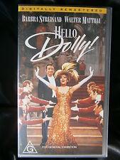 HELLO DOLLY ~ BARBRA STREISAND, MICHAEL CRAWFORD, WALTER MATTHAU ~ VHS VIDEO