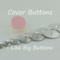 Cover Button/Fabric Covered Buttons CHOOSE Back, Size, Quantity, Tool, Template!