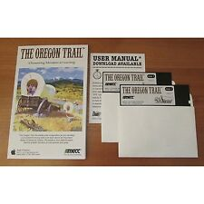 "The Oregon Trail MECC Game + Quick-Start Card (5.25"" Disks / Apple IIe,IIc,IIgs)"
