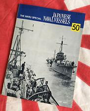 IJN MINESWEEPERS TROOPSHIPS Japanese Navy Vintage MARU SPECIAL Book Vol 50