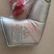 scotty cameron headcovers (3) one is autographed