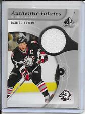 05-06 SP Game Used Daniel Briere Authentic Fabrics Jersey