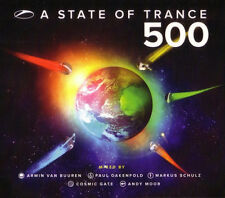 A State Of Trance 500 5xCD Armada  - New Sealed - (Box C149)