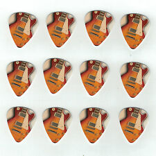 12 Pack GIBSON LES PAUL CLASSIC USA Medium Gauge 351 Guitar Picks Plectrum