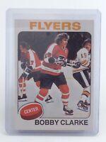 1975-1976 Bobby Clarke #250 Philadelphia Flyers OPC O-Pee-Chee Hockey Card H783