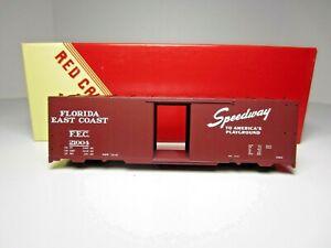 RED CABOOSE RC-8012-1 FLORIDA EAST COAST 40' AAR BOX CAR KIT