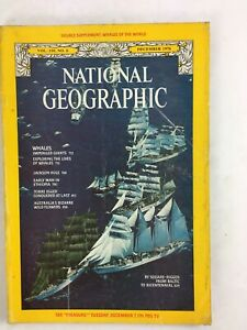 December 1976 NationalGeographic Magazine By Square RiggerBaltic to Bicentennial