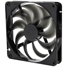 Rosewill RABF-131409 - 140mm Computer Case Cooling Fan w/ LP4 Adapter, Black