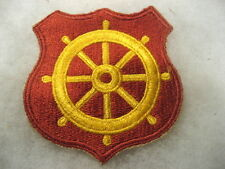 US Army Patch Military Transport.Port Embarkation ww2