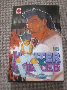 HUNTER X HUNTER  VOL 16 IN SPANISH BY YOSHIHIRO TOGASHI NEW PAPER BACK