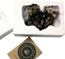 Boyds Bears Ornament #25724 Gideon And Gabrielle Bearlove Mib